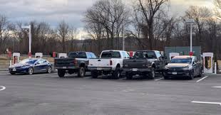 100 Do You Tip Tow Truck Drivers AntiTesla Pickup Truck Drivers Take Over A Supercharger