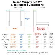 Murphy Bed Dimensions Throughout Horizontal InLine Truck Pinterest ... Toyota Ta A Dimeions Of Toyota Tacoma Truck Bed Length Silverado 1500 Truckbedsizescom 2009 Gmc Best 2018 Wood Bed Dimeions Ford Enthusiasts Forums Pickup Roole Amazoncom Rightline Gear 110770 Compactsize Tent 6 Sizes Comparison White What Is The Full Size Find Quick Way To Tacoma Bed Dimeions Cad Drawings Northend Equipment Kobalt Smline Compact Tool Box Resource