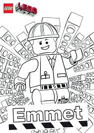 Download Coloring Pages Lego Movie Futpal