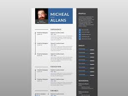 Free Resume Template With Two Color Version By James Han On ... The Best Free Creative Resume Templates Of 2019 Skillcrush Clean And Minimal Design Graphic Modern Cv Template Cover Letter In Ai Format Cvresume Design In Adobe Illustrator Cc Kelvin Peter Typography Package For Microsoft Word Wesley 75 Resumecv 13 Ptoshop Indesign Professional 2 Page File 7 Editable Minimalist Free Download Speed Art