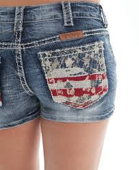 womens shorts cowboy boots and western clothing painted