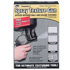Homax Ceiling Texture Spray by Homax Pneumatic Ii Spray Texture Gun 3 L Boxed 2 7 Cfm 80 Cfm