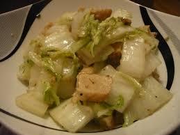 cuisiner le chou chinois cuit celle qui cuisinait ou le plaisir de cuisiner wok végé de chou