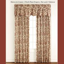 Jacobean Floral Country Curtains by Monique Jacobean Thermal Room Darkening Window Treatment