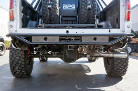 RPG-Raceline Rear Bumper, With SENSOR MOUNTS And Trailer Hitch ...