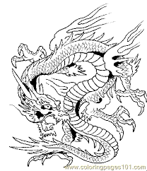 Dragon Coloring Page 09