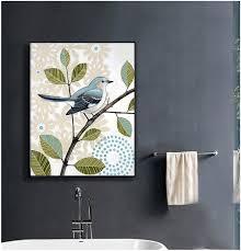 wand kunst gemälde vögel blumen schönes bild für hotel home school badezimmer wohnzimmer buy gemälde für hotel gemälde vögel blumen schöne bild wand