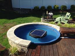Galvanized Stock Tank Bathtub by Small Pool With Filter 10816
