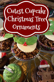 Colorful Cupcake Christmas Tree Ornaments Youll Love