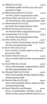 tav asteria speisenkarte gastronomie aktuell in neunburg