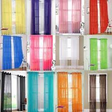 Chiffon Curtains Online India by Window Curtains Ebay