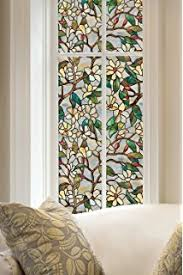 Artscape Decorative Window Film by Amazon Com Artscape New Leaf Window Film 24