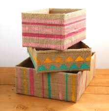 DIY Storage Boxes From Up cycled Cardboard Boxes