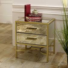 gold gerahmt antik glas verspiegelt bett gelegentlich tisch