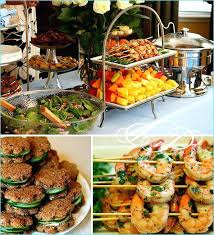 Real Parties Retro Chic Bridal Showerbridal Shower Finger Food Ideas Wedding Dinner