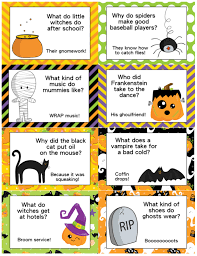 Halloween Fun Riddles by Johnnie Brock S Dungeon Party Warehouse Kids Halloween Jokes And