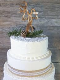 Easy Oh Deer Infinity Buck And Doe Rustic Wedding Cake Topper Lazerworx