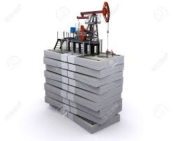 100 Truck Jack Stands Oil Pumpjack On A Packs Of Dollars Stock Photo Picture And