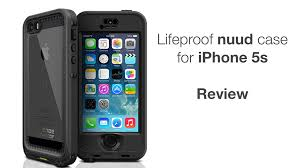 Lifeproof nuud iPhone 5s Case Review