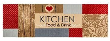 küchenläufer küchenmatte dekoläufer für küche und bar