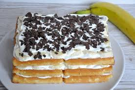 fünf minuten kuchen ohne backen banana split