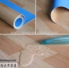 Waterproof Indoor Pvc Plastic Laminate Floor Covering Roll
