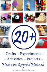Recycled Crafts And Projects For Kids