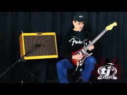 TJs Music Demos Fender Artist Series John Mayer Stratocaster Electric Guitar 3 Tone Sunburst