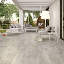 Yellowstone Silver Wood Effect Porcelain Floor Tiles 1010x162mm