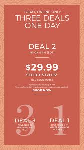 Chico's: Deal #2 Is Too Good | Milled 6pm Coupon Code Cyber Monday Brand Discount Lemoyne All The Deals Bali Athi Books Coupons For Galleria Ice Skating Coupon November 2018 Clif Bars Printable Coupons Jetstar 9th Birthday Anniversary Sale 9 Fare Today 6pmcom 2019 Www6pmcom Christmas Town Dr Martens Happy Nails Doylestown Pa Codes December Recent Discounts Calamo Code Discount Www Ebay Com Electronics I Have A