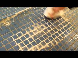 cleaning of dirt calcium rust build up on pool deck tile