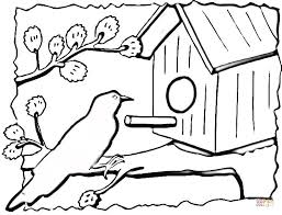 Click The Birdhouse Coloring Pages To View Printable