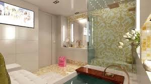 badezimmer design mit bisazza glasmosaik