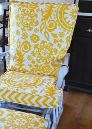Indoor Rocking Chair Covers by Update A Nursery Glider Rocking Chair The Diy Mommy