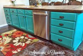 Teal Green Kitchen Cabinets by Patina Green Kitchen Cabinets General Finishes Design Center