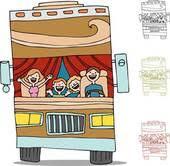 Family Trip Road RV