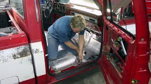 LMC Truck: Truck Molded Carpet Installation In A Chevy/GMC C10 Truck ...