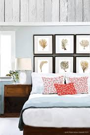 Coral Colored Decorative Items by Coastal Decor Sea Fan Coral Set Of 6 Wall Art Prints In Brown