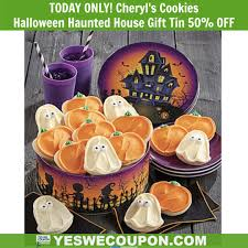 TODAY ONLY! Halloween Haunted House Gift Tin 50% OFF! GO GO ...