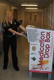 prescription drop box