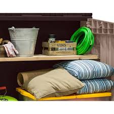 Keter Woodland Storage Box by Keter Store It Out Midi 30 Cu Ft Horizontal Storage Shed Hayneedle
