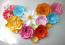 Paper Flower Backdrop Giant Flowers Wall Large