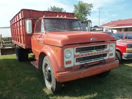 100 Used Grain Trucks For Sale 1968 Red Chevrolet 50 Grain Truck My Truck Pictures GMC
