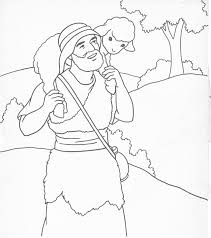 Jesus The Good Shepherd Colouring Pages Page 2
