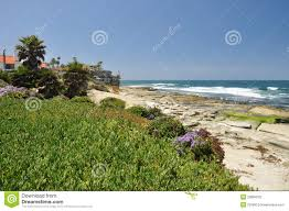 100 Seaside Home La Jolla In Stock Photo Image Of Purple Leisure