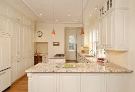 linen cabinets kitchen traditional with orange pendant light