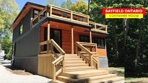 100 Canadian Container Homes Bayfield Home In Ontario Canada Hillier
