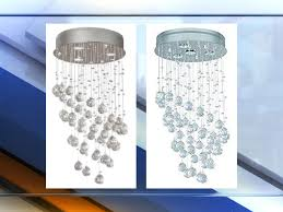 chandeliers sold exclusively at home depot recalled for