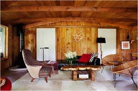 Fresh Living Room Wood Paneling Decorating Ideas