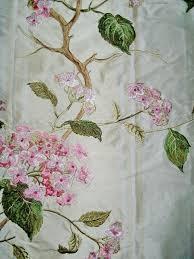 Ebay Curtains Laura Ashley by Laura Ashley Gosford Floral Print Silk Mix Curtain Fabric For